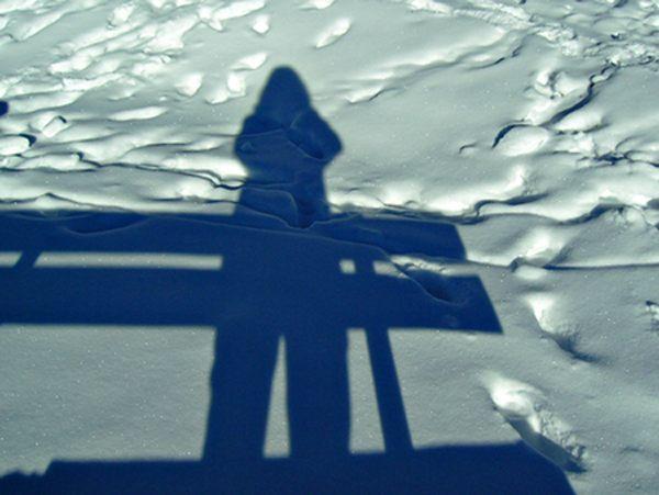 - Schatten im Schnee -