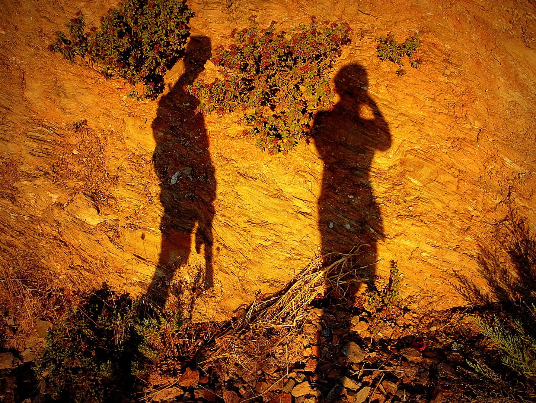 Schatten in der Abendsonne