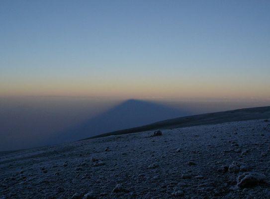 Schatten vom Kilimanjaro