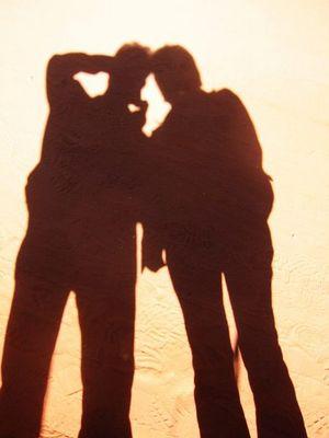 Schattenbilder im Outback