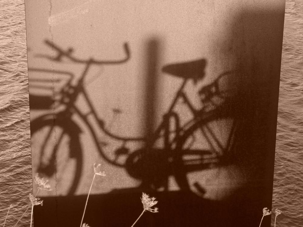 Schattenfahrrad...