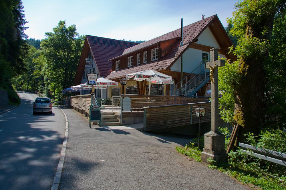 Schattenmühle am nächsten Morgen.