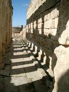 Schattenspiel in einer Ruine...