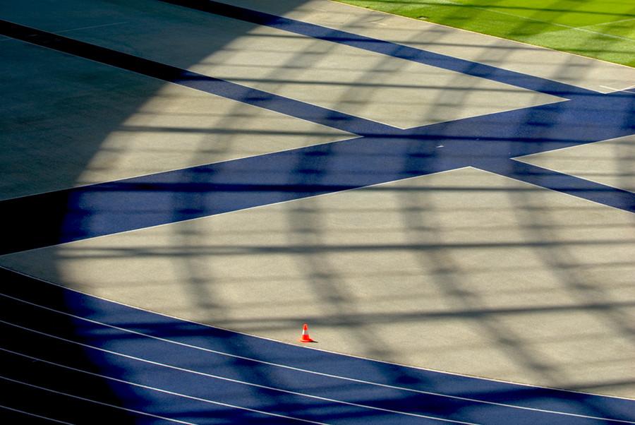 Schattenwurf Berlin Olympiastadion