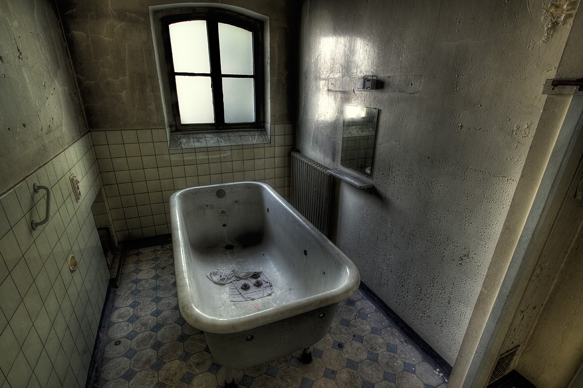 Schatz, lass doch schon mal das Bad ein
