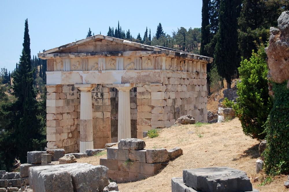 Schatzhaus der Athener 2