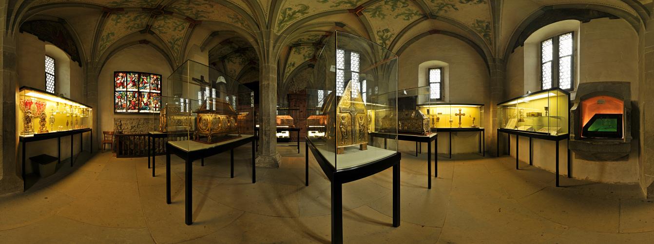 Schatzkammer des Münsters Reichenau