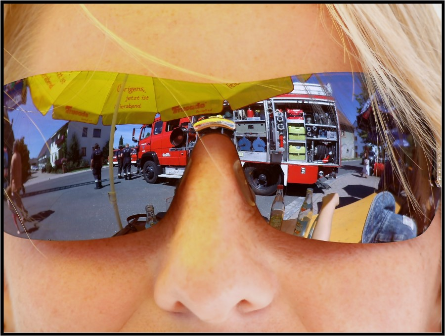 Schau mal da - Die Feuerwehr!!
