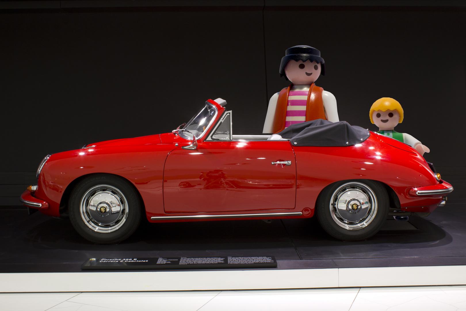 Schau mal Papa, ein Porsche.