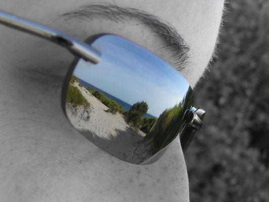 Schau mir in die Augen.