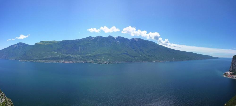 Schauder-Terrasse am Gardasee