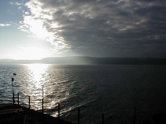Schauer überm Bodensee