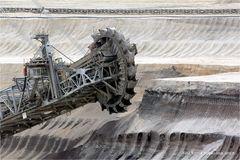 Schaufelrad Bagger 288 .. im Tagebau