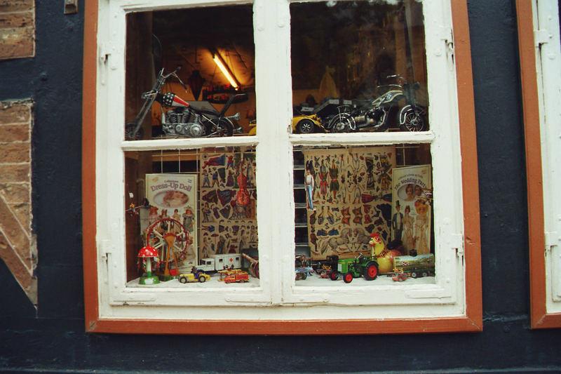 Schaufenster in Goslar
