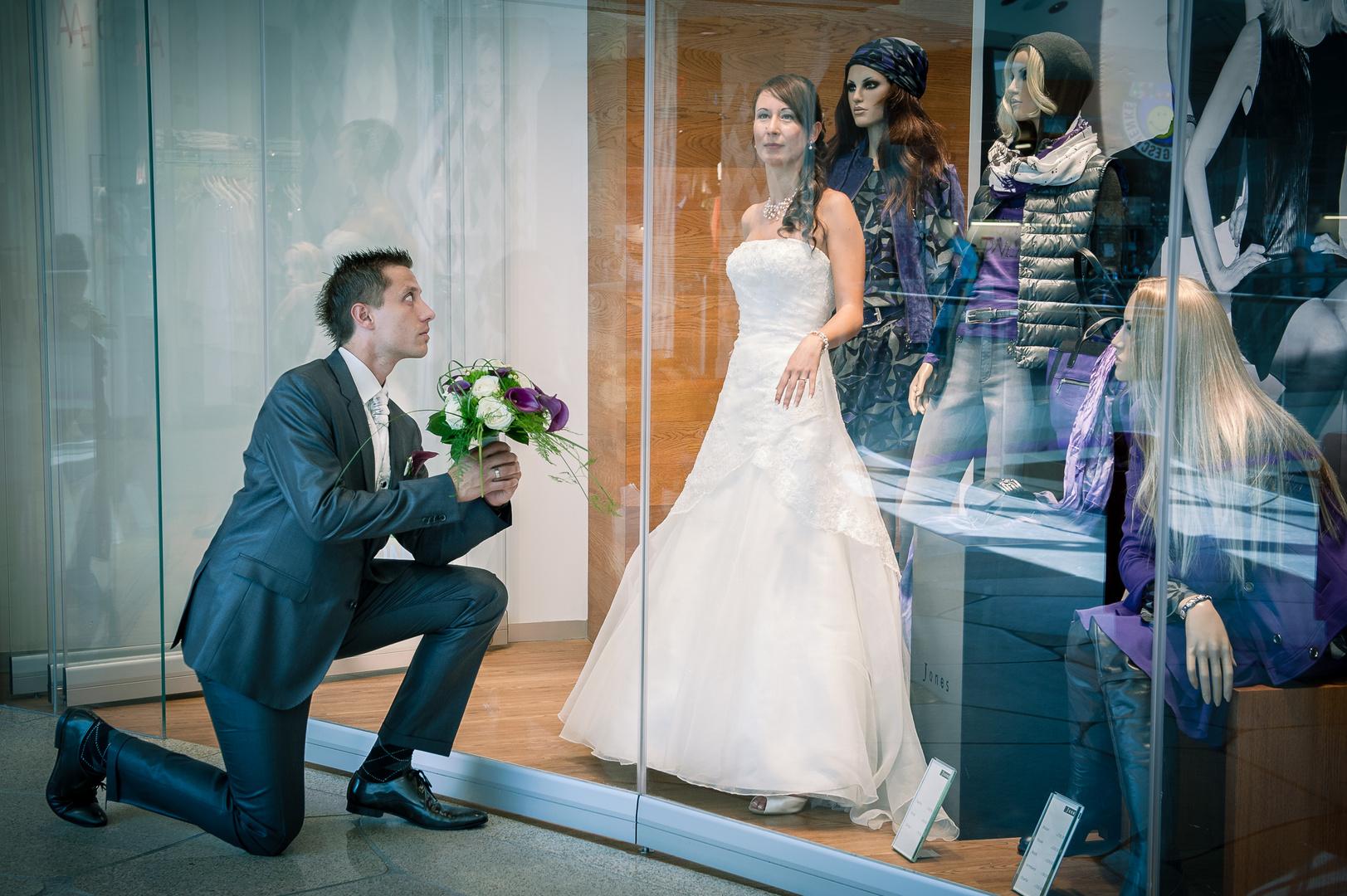 Schaufenster-Liebe