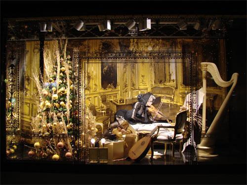 schaufenster weihnachten 2006 kadewe die fiedlerin foto. Black Bedroom Furniture Sets. Home Design Ideas