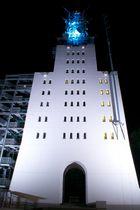 Schaumberturm bei Nacht