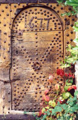 Schaumburg - alte Tür