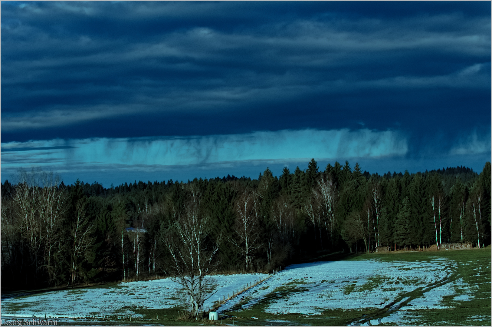 Schauspiel der Wolken!