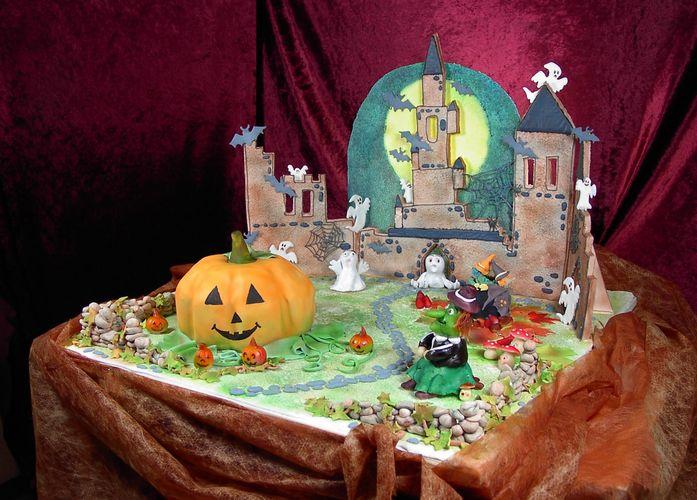 Schaustück zu Halloween