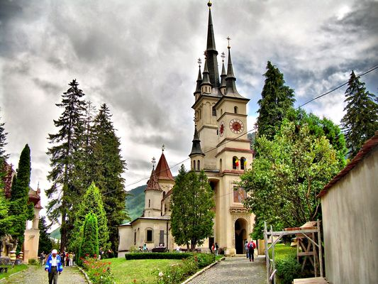 Schei Church - Brasov, Romania