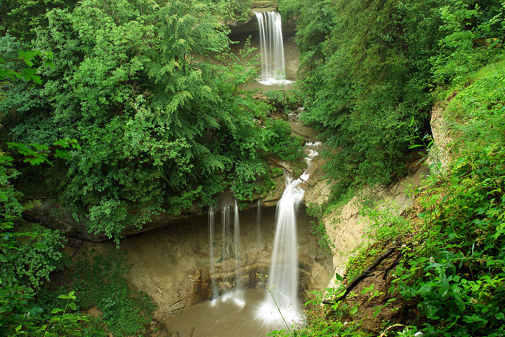 Scheidegger Wasserfälle Allgäu