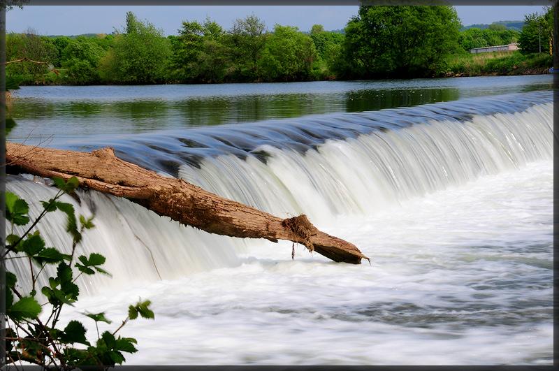 Schein-Wasserfall