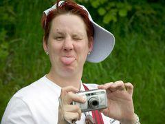Scheiß Fotografiert werden ...
