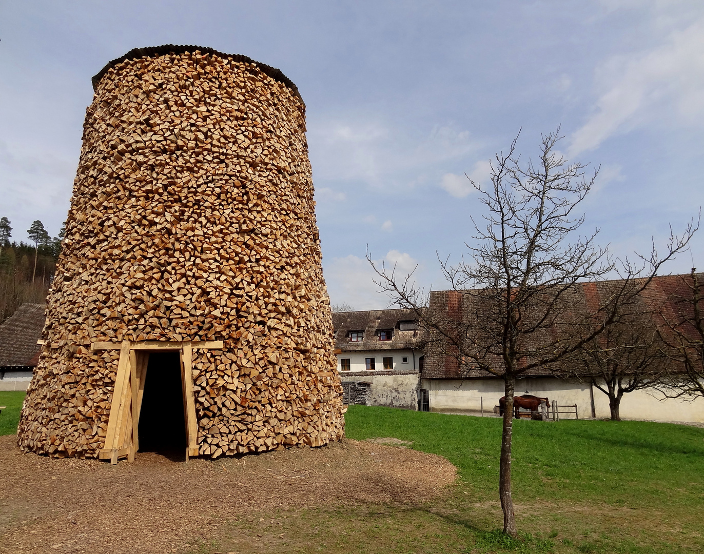 Scheiterturm / Log Tower