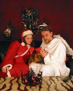 schellenbergische (b)engel und die weihnachtsfrau caro...