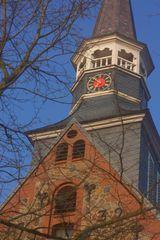 Schenefelder Dorfkirche (Mittelholstein) Der Turm