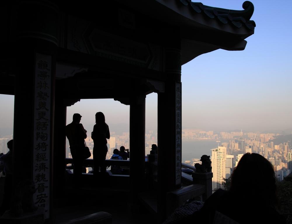 Scherenschnitt aus Hong-Kong