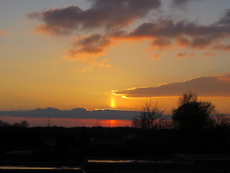 Schermbeck bei Sonnenuntergang (2).