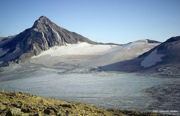 Schesaplana 2964 müM und Brandner Gletscher
