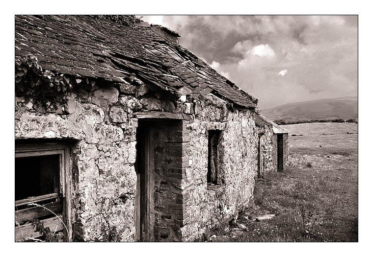 Scheune in Wales