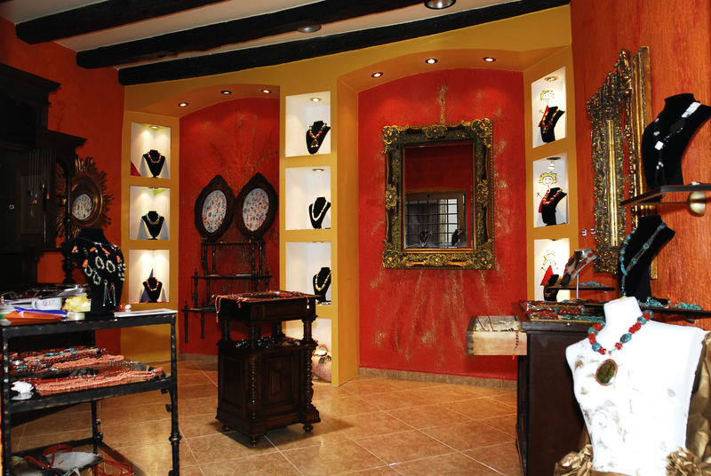 Schicke Gallerie in Rovinj