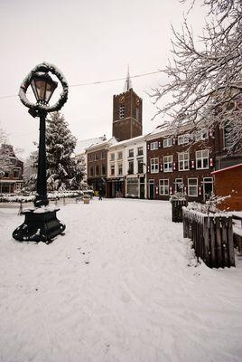 Schiedam - Markt - Grote Kerk