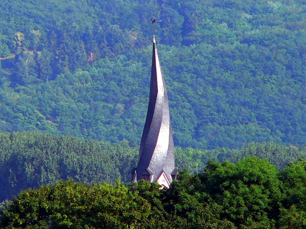"""""""Schiefer Turm"""" von Mayen"""