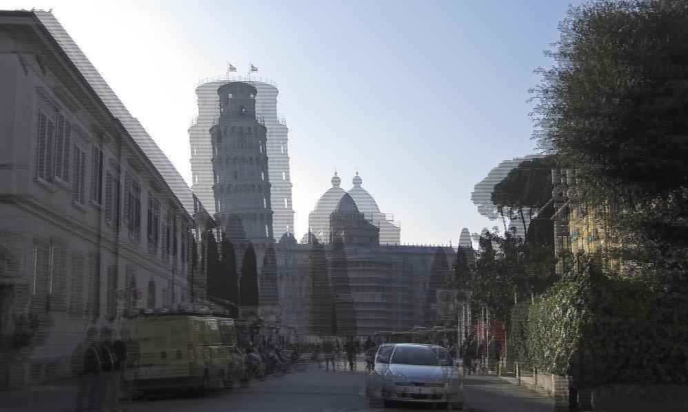 Schiefer Turm von Pisa 1 -3D-