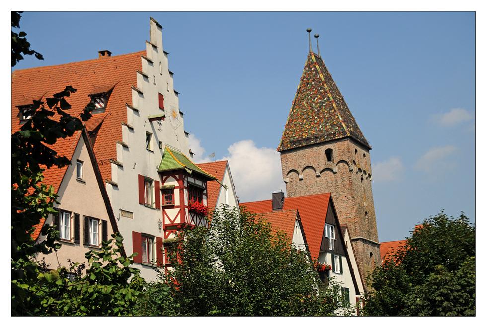 schiefer Turm von Ulm