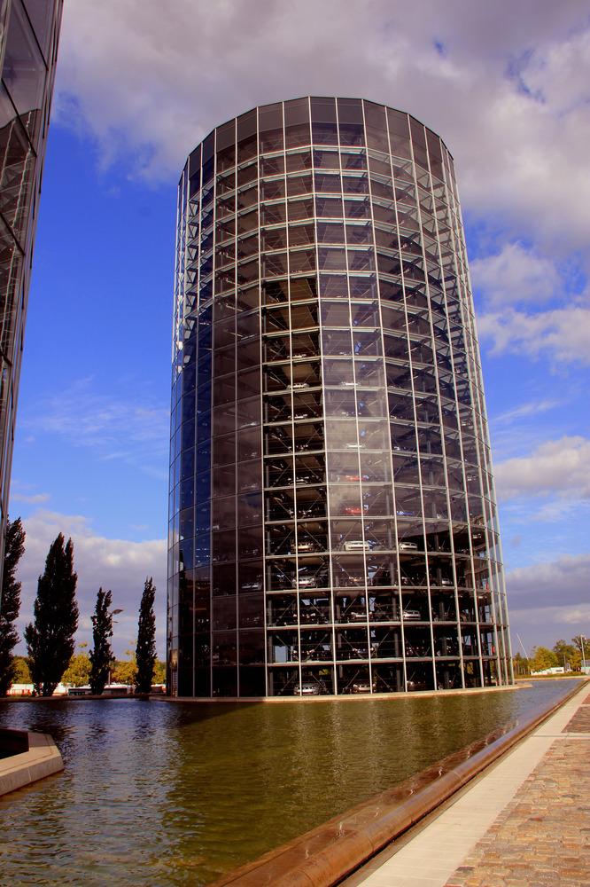 Schiefer Turm von Wolfsburg