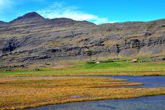 Schieflage - auf dem Weg von den Ostfjorden Richtung Myvatn