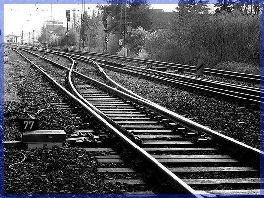 Schienen ..