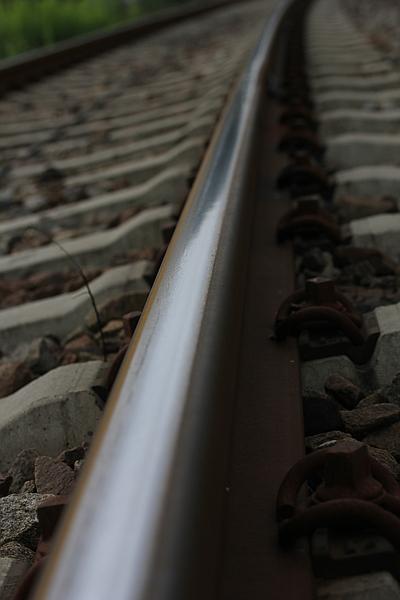 Schienen in Friesenheim