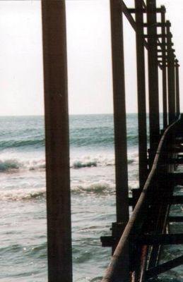 Schienen ins Meer
