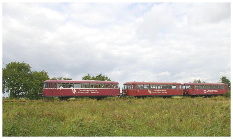 Schienenbus VT 98 zu Gast in Norden.....anläßlich