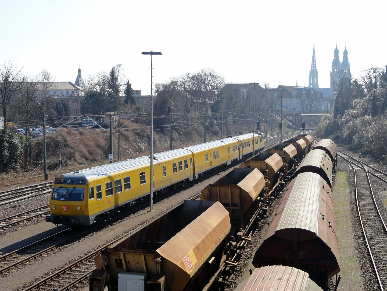 Schienenprüfzug