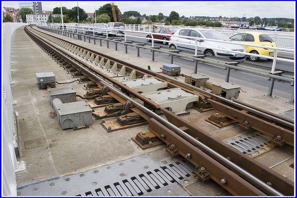 Schienenübergang