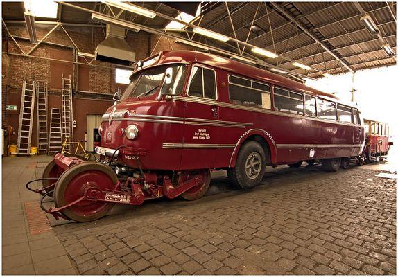 Schiestrabus, Eisenbahnmuseum Bochum