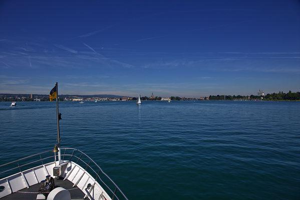 Schiff Ahoi Richtung Konstanz